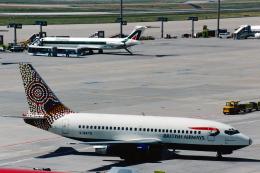 菊池 正人さんが、フランクフルト国際空港で撮影したブリティッシュ・エアウェイズ 737-236/Advの航空フォト(飛行機 写真・画像)