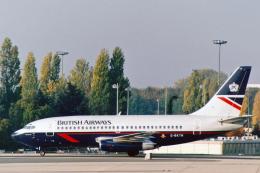 菊池 正人さんが、パリ シャルル・ド・ゴール国際空港で撮影したブリティッシュ・エアウェイズ 737-236/Advの航空フォト(飛行機 写真・画像)