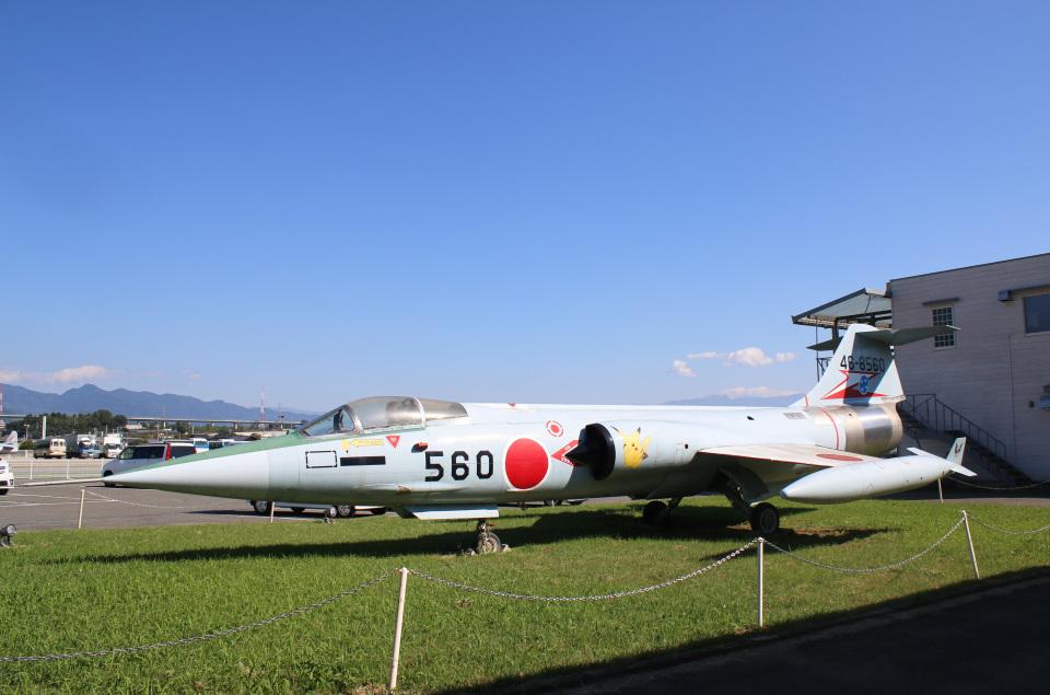 takaRJNSさんの航空自衛隊 Mitsubishi F-104 (46-8560) 航空フォト