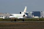 スポット110さんが、羽田空港で撮影したSASインスティチュート Falcon 900EXの航空フォト(写真)