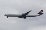 ANA744Foreverさんが、羽田空港で撮影したルフトハンザドイツ航空 A340-642Xの航空フォト(飛行機 写真・画像)