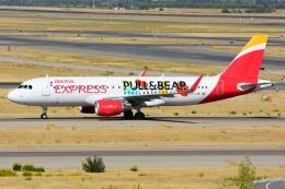 RUSSIANSKIさんが、マドリード・バラハス国際空港で撮影したイベリア・エクスプレス A320-216の航空フォト(飛行機 写真・画像)
