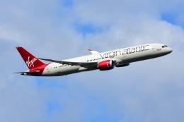 RUSSIANSKIさんが、ロンドン・ヒースロー空港で撮影したヴァージン・アトランティック航空 787-9の航空フォト(写真)