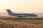 kumagorouさんが、仙台空港で撮影したウィルミントン・トラスト・カンパニー BD-700 Global Express/5000/6000の航空フォト(飛行機 写真・画像)