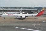 シュウさんが、成田国際空港で撮影したイベリア航空 A340-642の航空フォト(写真)