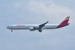 パンダさんが、成田国際空港で撮影したイベリア航空 A340-642の航空フォト(飛行機 写真・画像)