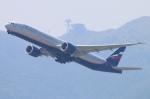 Kuuさんが、香港国際空港で撮影したアエロフロート・ロシア航空 777-3M0/ERの航空フォト(飛行機 写真・画像)
