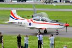 Tomo-Papaさんが、ミリテール・ド・ペイエルヌ飛行場で撮影したクロアチア空軍 PC-7の航空フォト(写真)