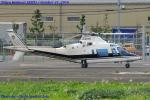 Chofu Spotter Ariaさんが、東京ヘリポートで撮影したアルファーアビエィション A109Cの航空フォト(飛行機 写真・画像)