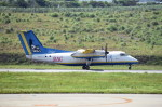 kumagorouさんが、新石垣空港で撮影した琉球エアーコミューター DHC-8-103Q Dash 8の航空フォト(写真)