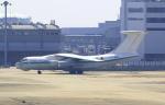 kix-boobyさんが、関西国際空港で撮影したアルジェリア空軍 Il-76TDの航空フォト(写真)