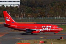 えすてるさんが、新千歳空港で撮影したサハリン航空 737-2J8/Advの航空フォト(飛行機 写真・画像)