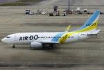 あしゅーさんが、中部国際空港で撮影したAIR DO 737-781の航空フォト(飛行機 写真・画像)