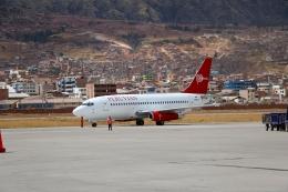 speedbird019さんが、アレハンドロ・ベラスコ・アステテ国際空港で撮影したペルビアン航空 737-230/Advの航空フォト(飛行機 写真・画像)
