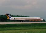 kumagorouさんが、山形空港で撮影した日本エアシステム MD-81 (DC-9-81)の航空フォト(飛行機 写真・画像)