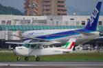 サボリーマンさんが、松山空港で撮影した新日本航空 172M Skyhawkの航空フォト(写真)