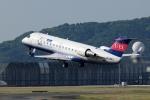 Mihaさんが、伊丹空港で撮影したアイベックスエアラインズ CL-600-2B19 Regional Jet CRJ-200ERの航空フォト(写真)