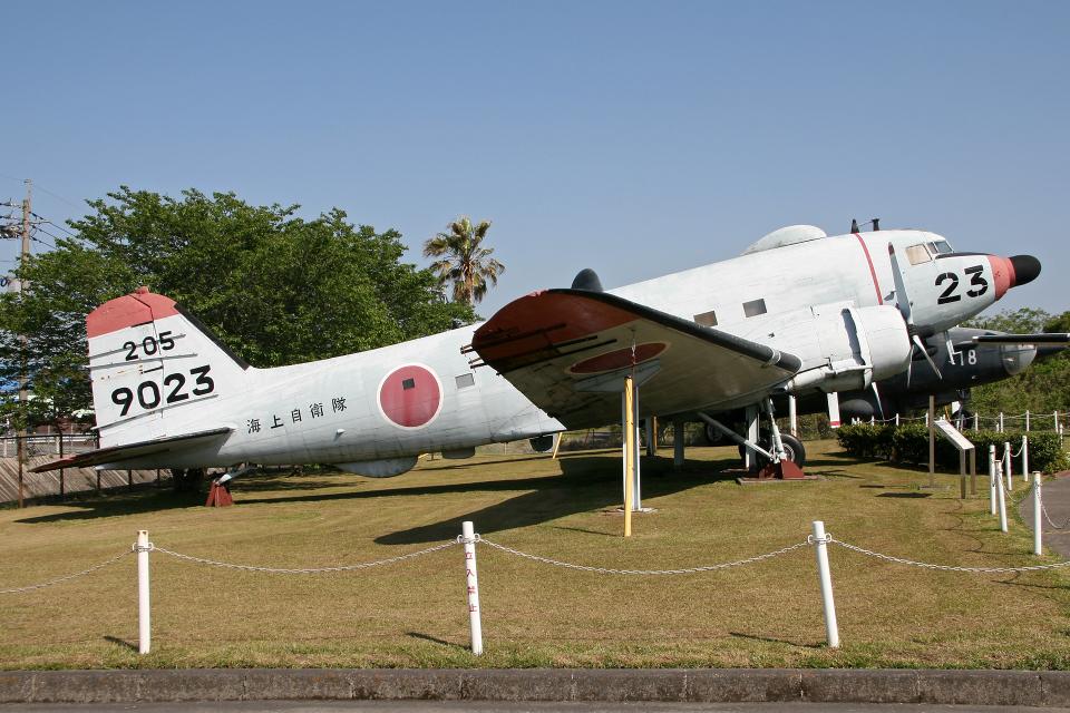 Echo-Kiloさんの海上自衛隊 Douglas DC-3 (9023) 航空フォト