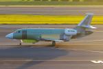 PASSENGERさんが、成田国際空港で撮影したL-3コミュニケーションズ・アドバンスド・アビエーション Falcon 2000の航空フォト(写真)