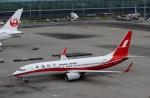 ハピネスさんが、羽田空港で撮影した上海航空 737-8SHの航空フォト(飛行機 写真・画像)