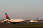 masakazuさんが、成田国際空港で撮影したデルタ航空 747-451の航空フォト(写真)
