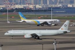 ドリさんが、羽田空港で撮影したベルギー空軍 A321-231の航空フォト(飛行機 写真・画像)