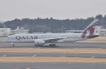 Orange linerさんが、成田国際空港で撮影したカタール航空 777-2DZ/LRの航空フォト(写真)