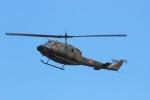 ショウさんが、八尾空港で撮影した陸上自衛隊 UH-1Jの航空フォト(写真)