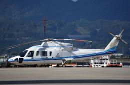 kumagorouさんが、仙台空港で撮影したエクセル航空 S-76A+の航空フォト(写真)