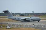 うめやしきさんが、三沢飛行場で撮影したイギリス空軍 C-17A Globemaster IIIの航空フォト(飛行機 写真・画像)