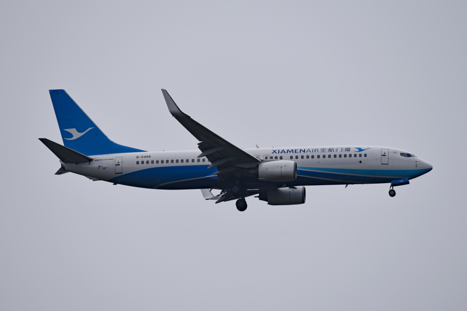 tsubasa0624さんの厦門航空 Boeing 737-800 (B-5488) 航空フォト