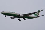 tsubasa0624さんが、成田国際空港で撮影したエバー航空 A330-302の航空フォト(写真)