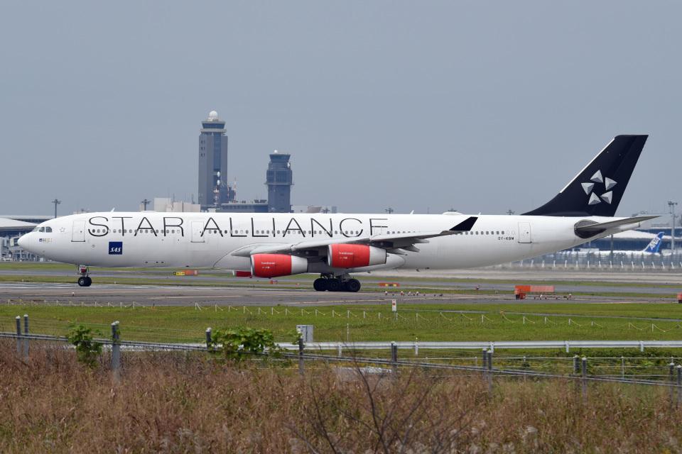 tsubasa0624さんのスカンジナビア航空 Airbus A340-300 (OY-KBM) 航空フォト