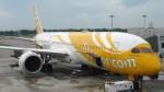 westtowerさんが、シンガポール・チャンギ国際空港で撮影したスクート (〜2017) 787-9の航空フォト(写真)