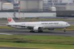 マルさんが、羽田空港で撮影した日本航空 777-346の航空フォト(写真)