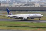 マルさんが、羽田空港で撮影したユナイテッド航空 777-222/ERの航空フォト(写真)