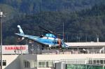 蜻蛉さんが、花巻空港で撮影した山形県警察 A109E Powerの航空フォト(写真)
