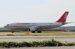 ハピネスさんが、関西国際空港で撮影したユニ・トップエアラインズ A300B4-605Rの航空フォト(飛行機 写真・画像)