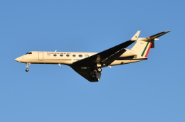 Timothyさんが、成田国際空港で撮影したメキシコ空軍 G-V-SP Gulfstream G550の航空フォト(飛行機 写真・画像)