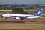 やまけんさんが、仙台空港で撮影した全日空 767-381/ERの航空フォト(写真)