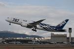 Zero Fuel Weightさんが、伊丹空港で撮影した全日空 787-8 Dreamlinerの航空フォト(写真)