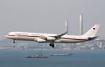 Asamaさんが、香港国際空港で撮影したドイツ空軍 A340-313Xの航空フォト(写真)