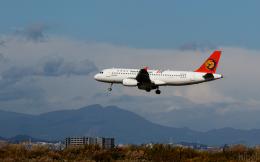 ひげじいさんが、仙台空港で撮影したトランスアジア航空 A320-232の航空フォト(飛行機 写真・画像)