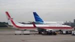 westtowerさんが、シンガポール・チャンギ国際空港で撮影したガルーダ・インドネシア航空 737-86Nの航空フォト(写真)