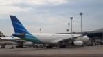 westtowerさんが、シンガポール・チャンギ国際空港で撮影したガルーダ・インドネシア航空 A330-243の航空フォト(写真)