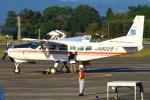 Kuuさんが、鹿児島空港で撮影したアジア航測 208 Caravan Iの航空フォト(飛行機 写真・画像)