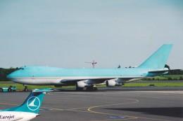 菊池 正人さんが、ルクセンブルグ・フィンデル空港で撮影したMKエアラインズ 747-2B5F/SCDの航空フォト(飛行機 写真・画像)
