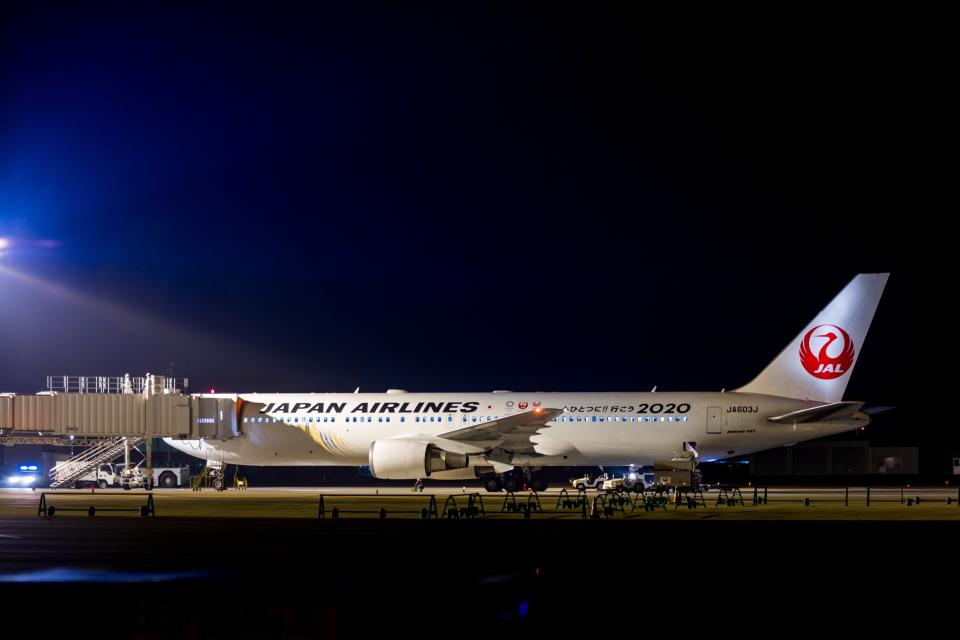 カヤノユウイチさんの日本航空 Boeing 767-300 (JA603J) 航空フォト