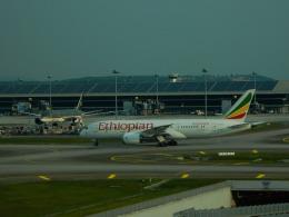 エアキヨさんが、クアラルンプール国際空港で撮影したエチオピア航空 787-8 Dreamlinerの航空フォト(飛行機 写真・画像)