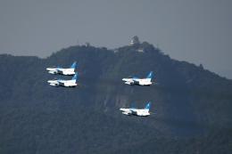 AkiChup0nさんが、岐阜基地で撮影した航空自衛隊 T-4の航空フォト(飛行機 写真・画像)